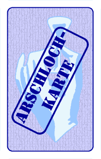 Arschloch Karten
